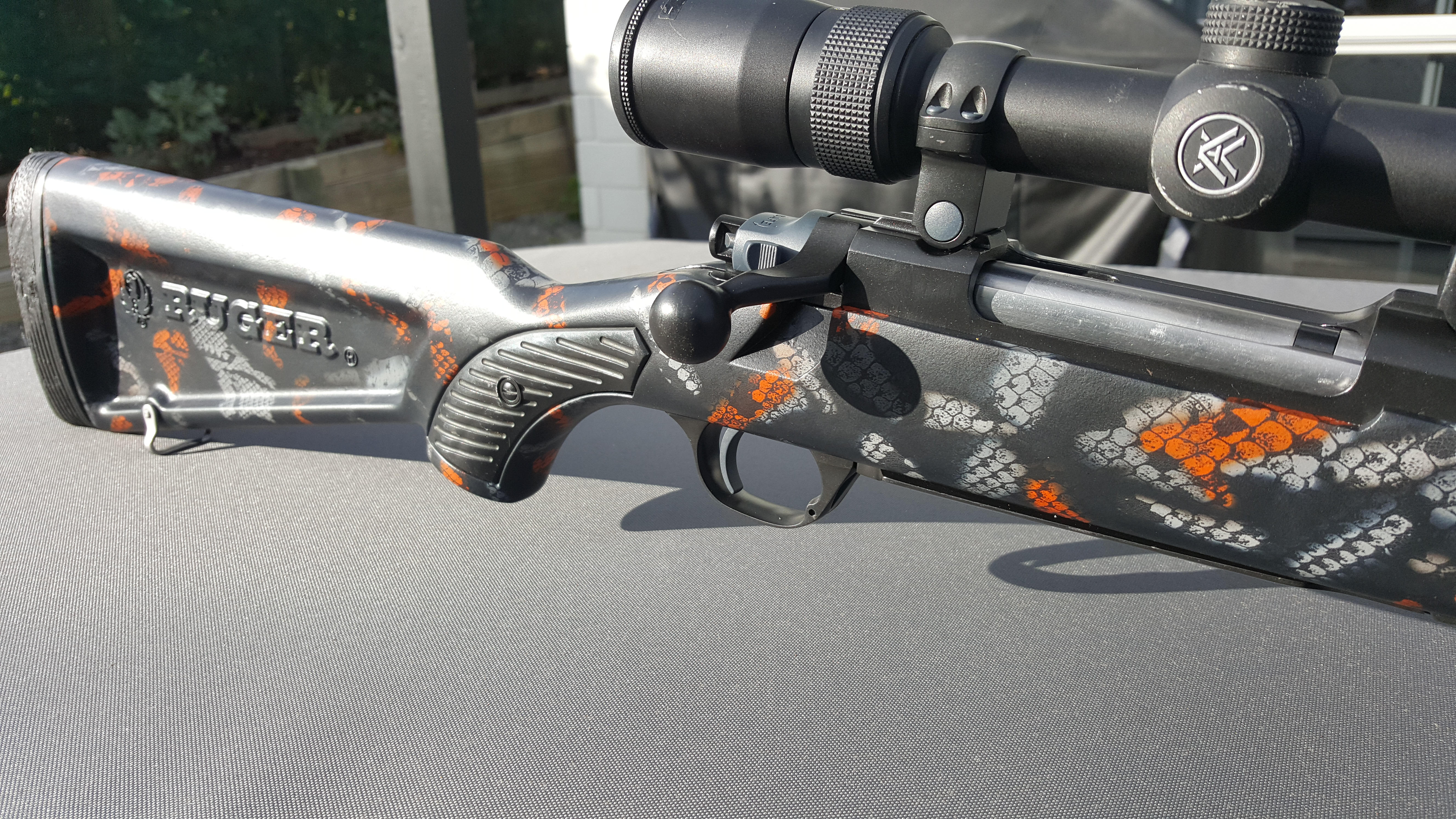 Name:  Ruger M77 MkII .270 Wina Hydro Snake Skin Skekton Stock Vortex Diamondback 4-12x40 1.jpg