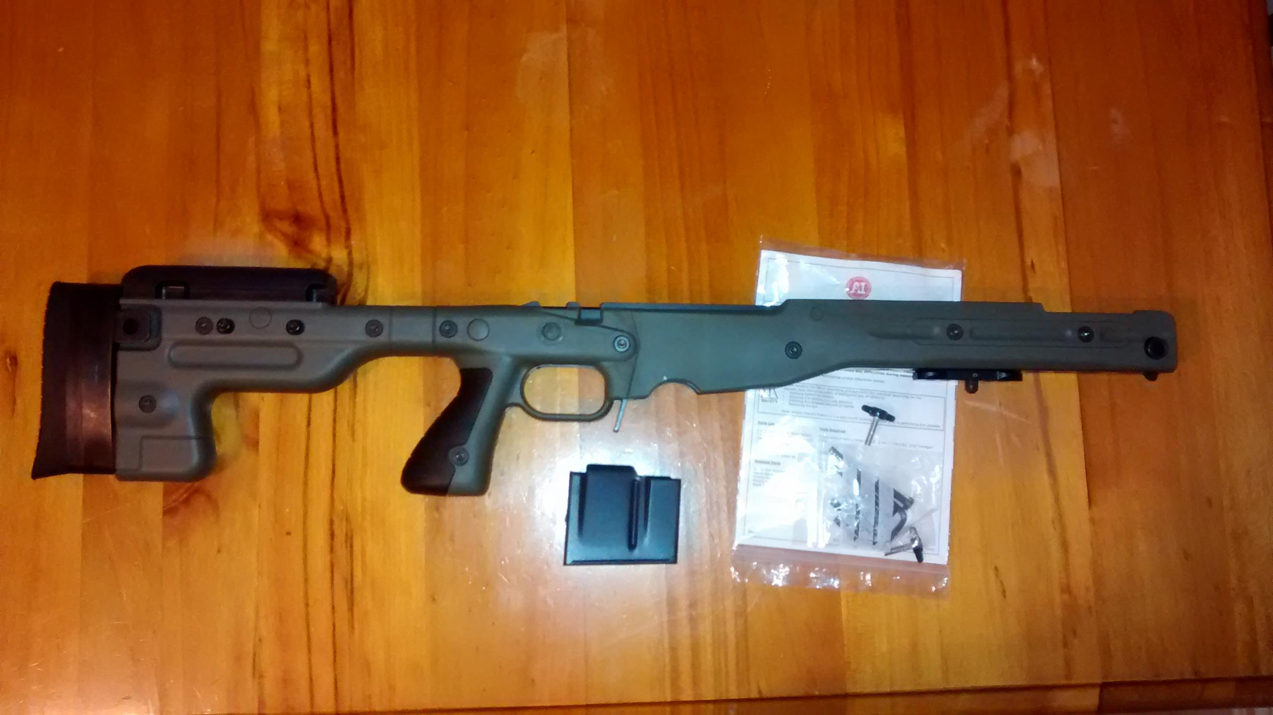 Accuracy International Chassis System Aics At Stock For Sale