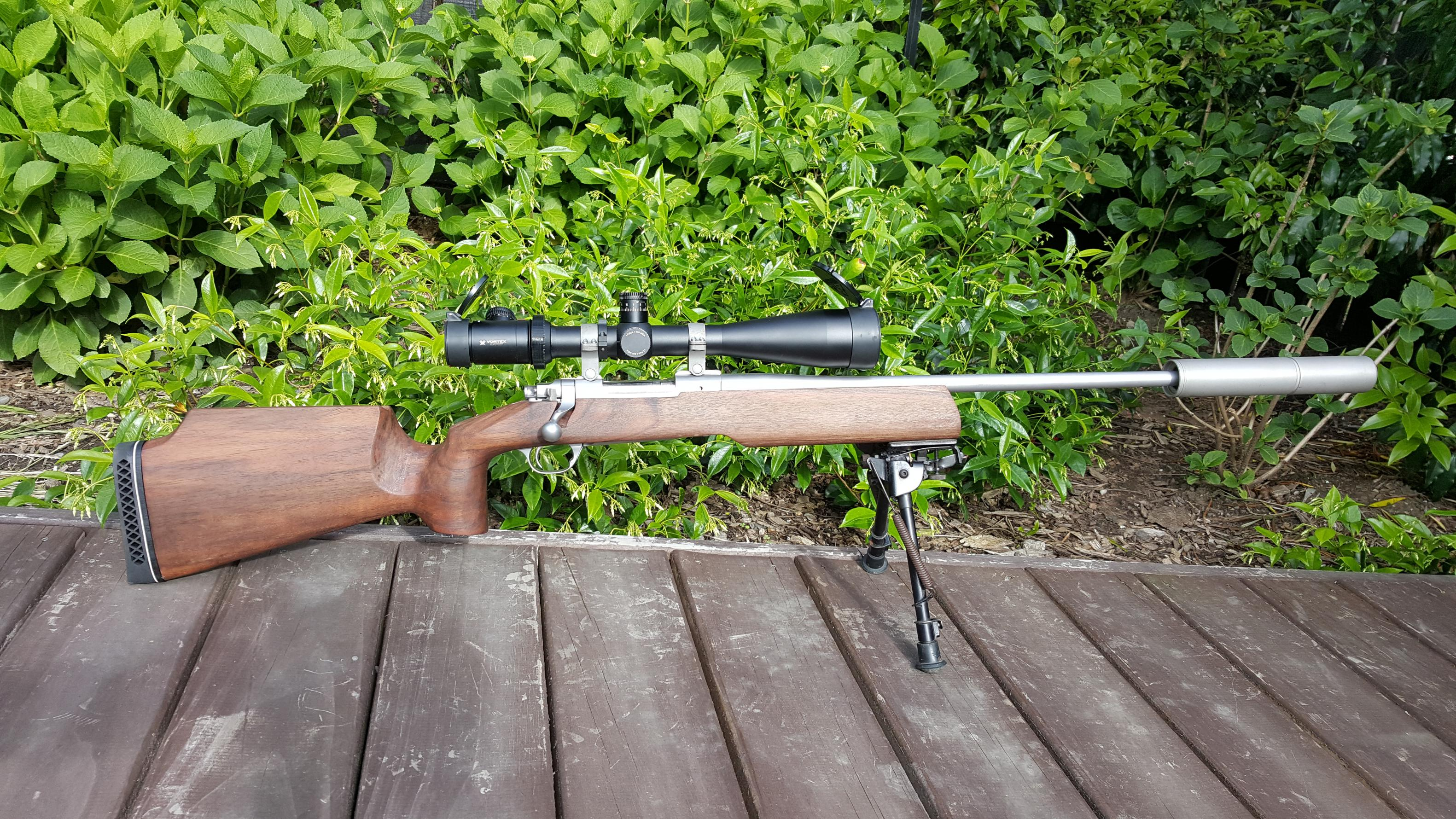 Name:  Ruger M77 MK11 .22-250 SS Hatcher Silhouette Laminate Stock 6-24x50 FFP PST Vortex Viper  MAE CP.jpg