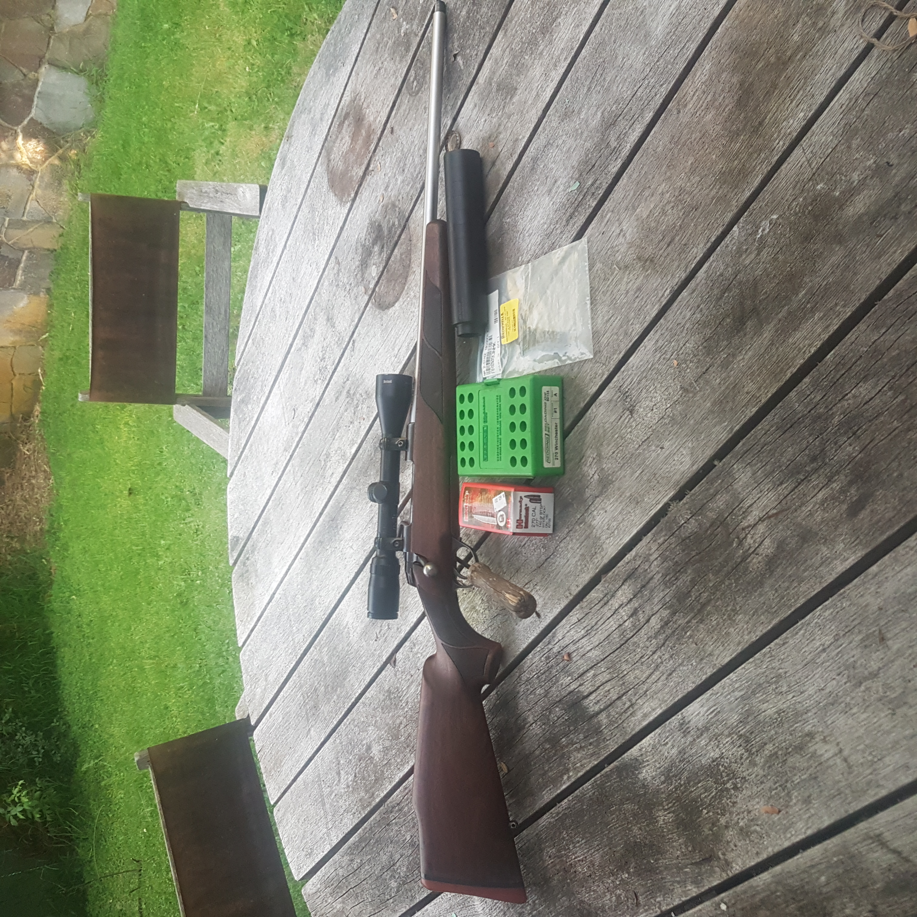 FS: Sako 75 Hunter .270 W/ Extras