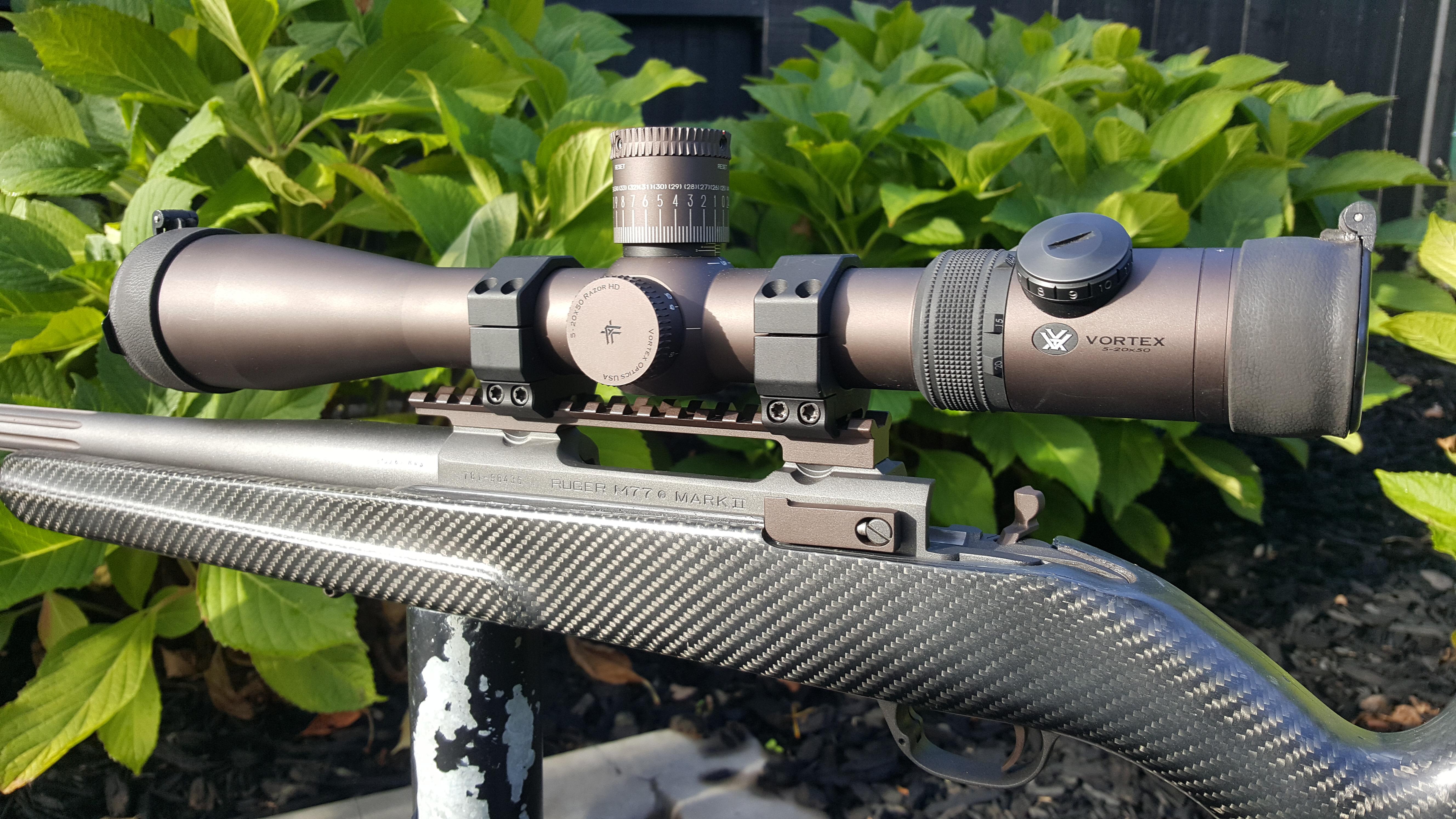 Name:  Ruger M77 MkII 6.5x68 RWS Magnum Stronghold Carbon Stock in Cobalt & Vortex Bronze Vortex Razor .jpg Views: 249 Size:  4.98 MB