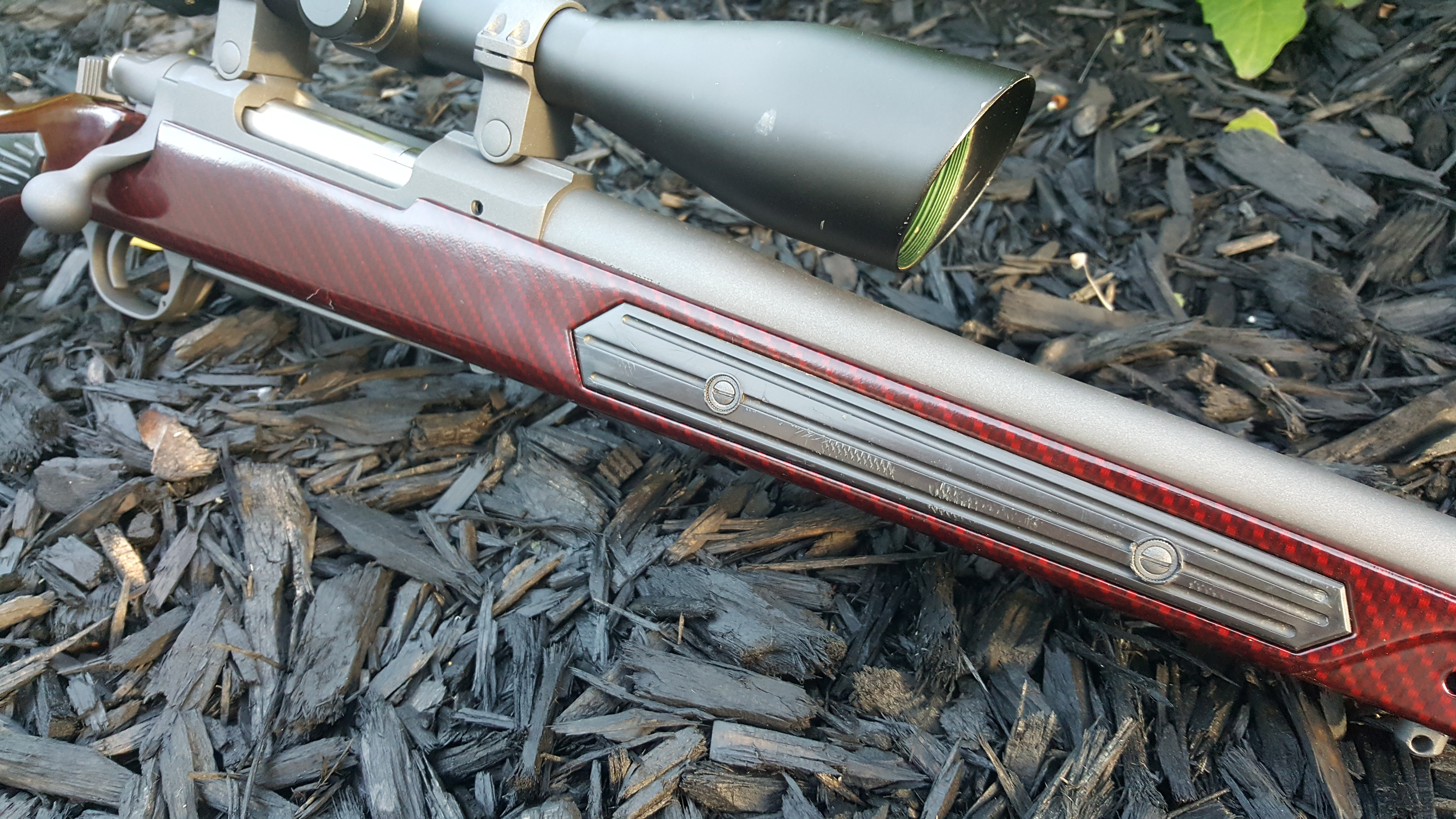 Name:  Ruger M77 MkII 7mm08 Hydro Cobalt w Red Cherry Carbon Skekton Stock 6.jpg Views: 130 Size:  4.96 MB