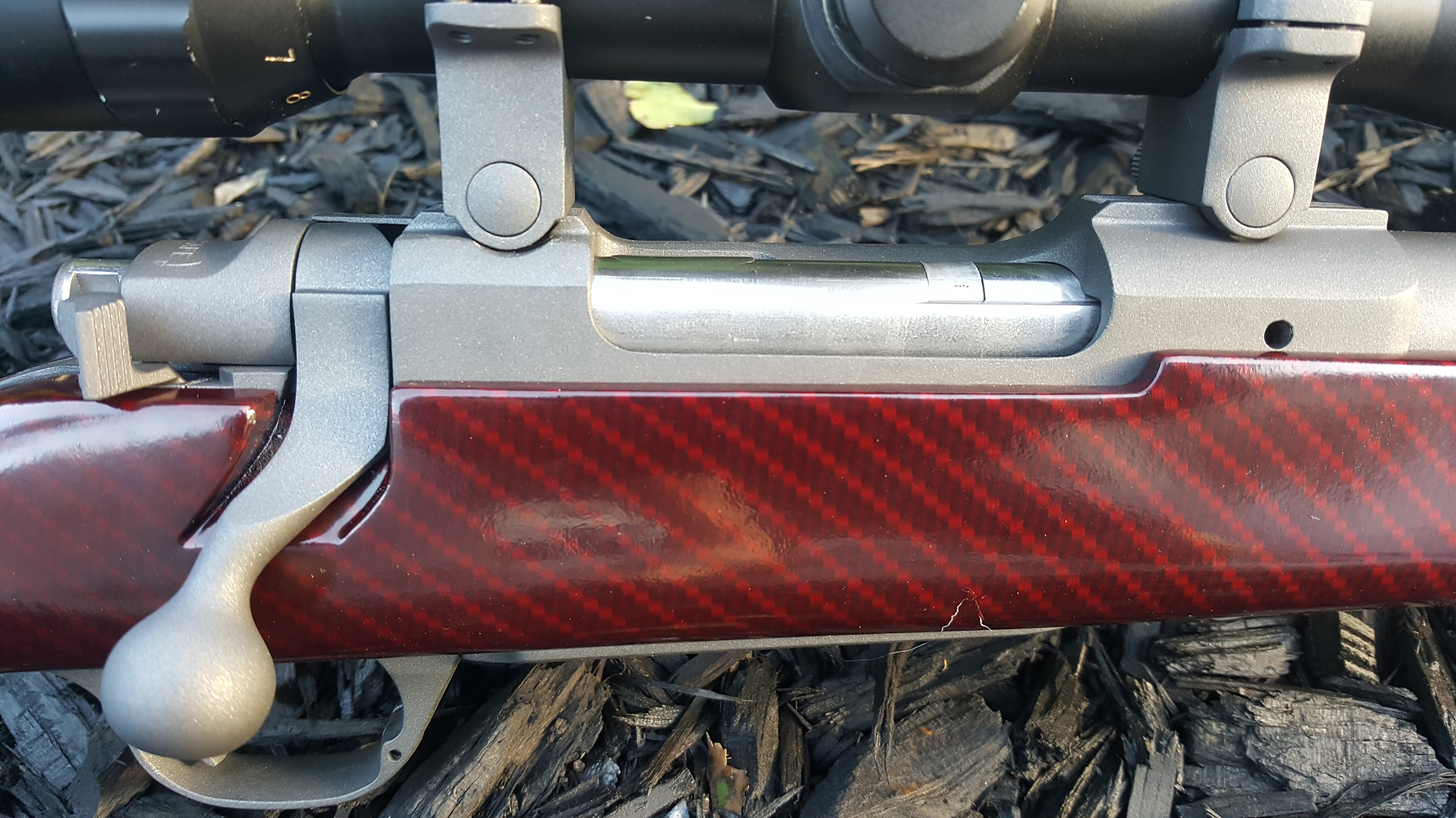 Name:  Ruger M77 MkII 7mm08 Hydro Cobalt w Red Cherry Carbon Skekton Stock 7.jpg Views: 95 Size:  4.05 MB