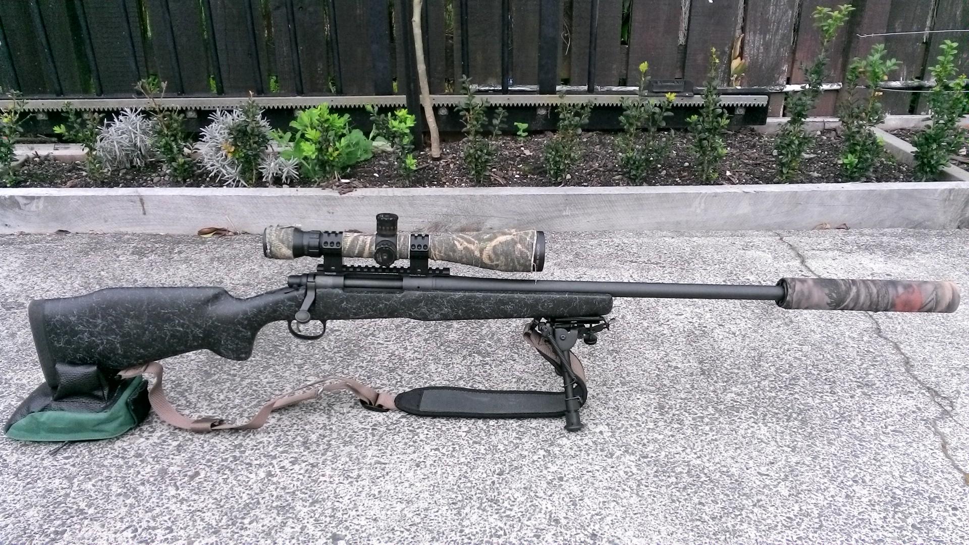 Name:  Remington 700 Long Range Bell & Carlson  Sightron SIII SS 6-24x50LRFFPMOA2 MAE LEM A10B Suppress.JPG Views: 404 Size:  837.3 KB