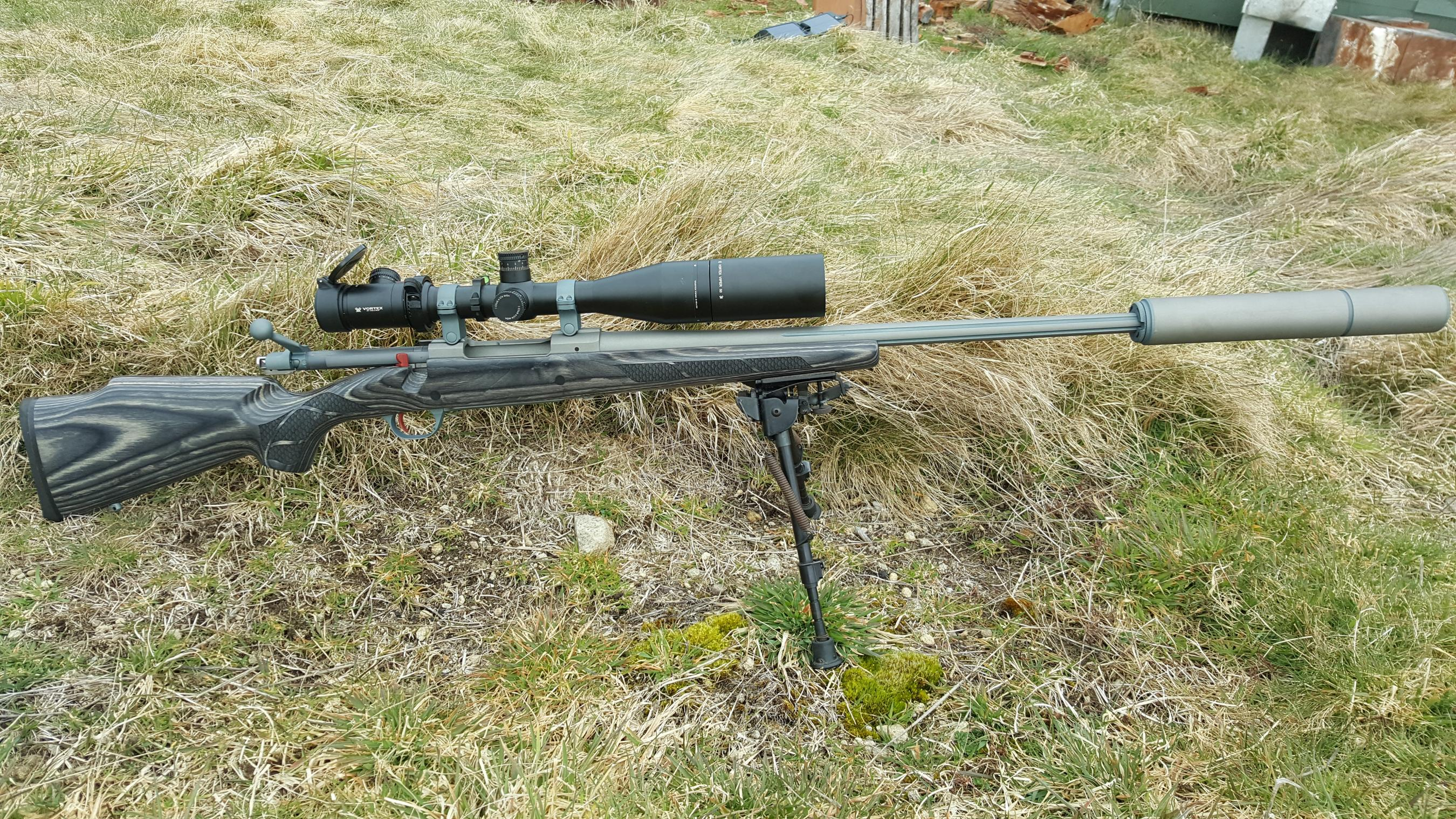 Name:  Ruger M77 MkII .300 Blaser Magnum Cerakoted SS Boyds Laser Etched Laminate Stock Vortex Viper PS.jpg Views: 519 Size:  1.26 MB