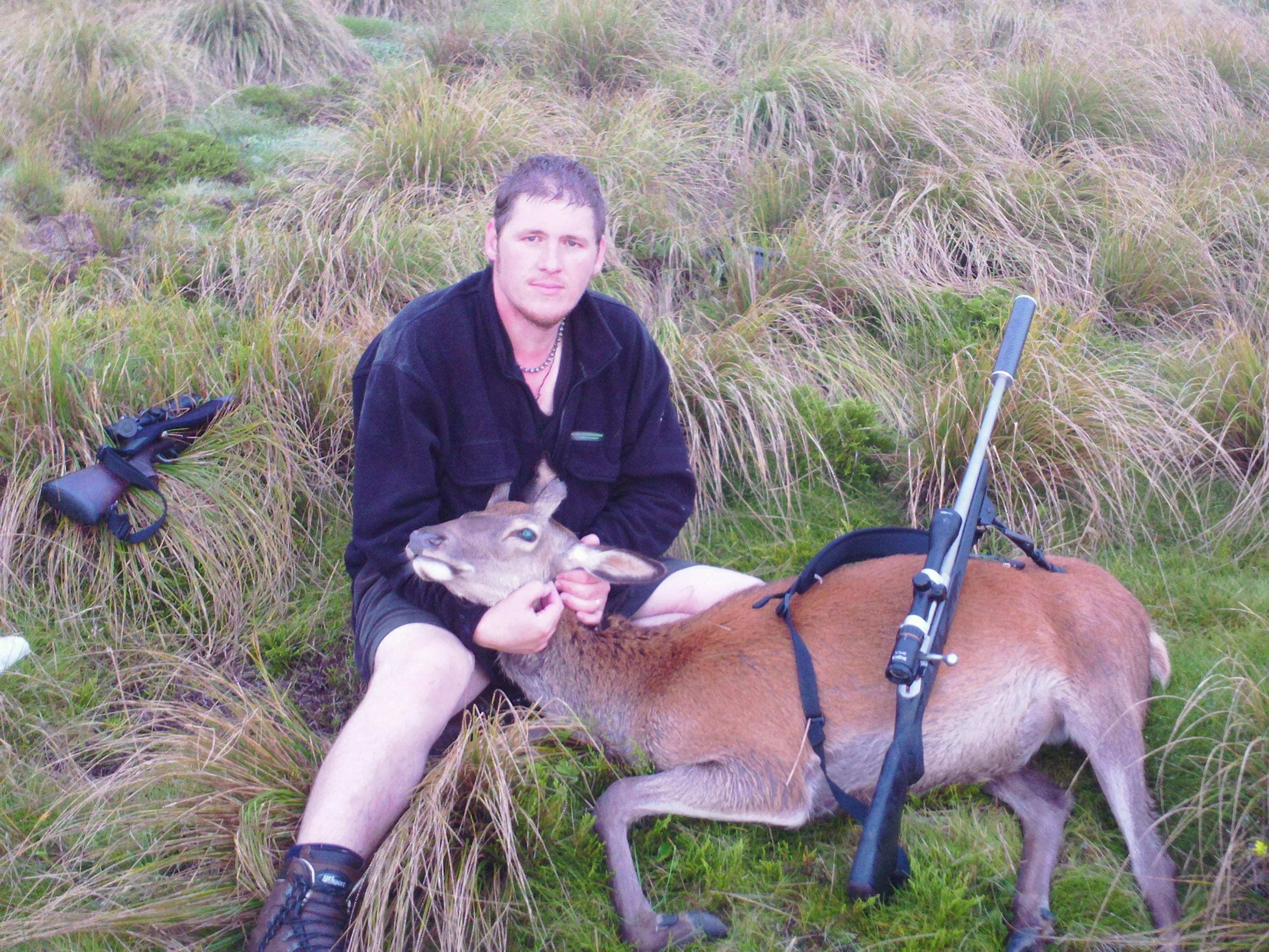 Name:  Marks first deer 009.jpg
