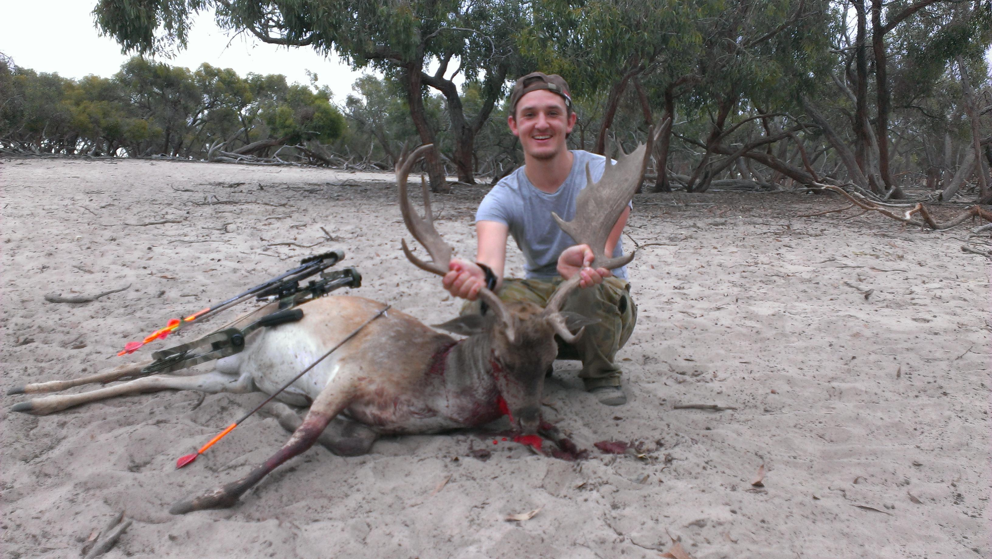 Name:  First fallow with the mauler.jpg