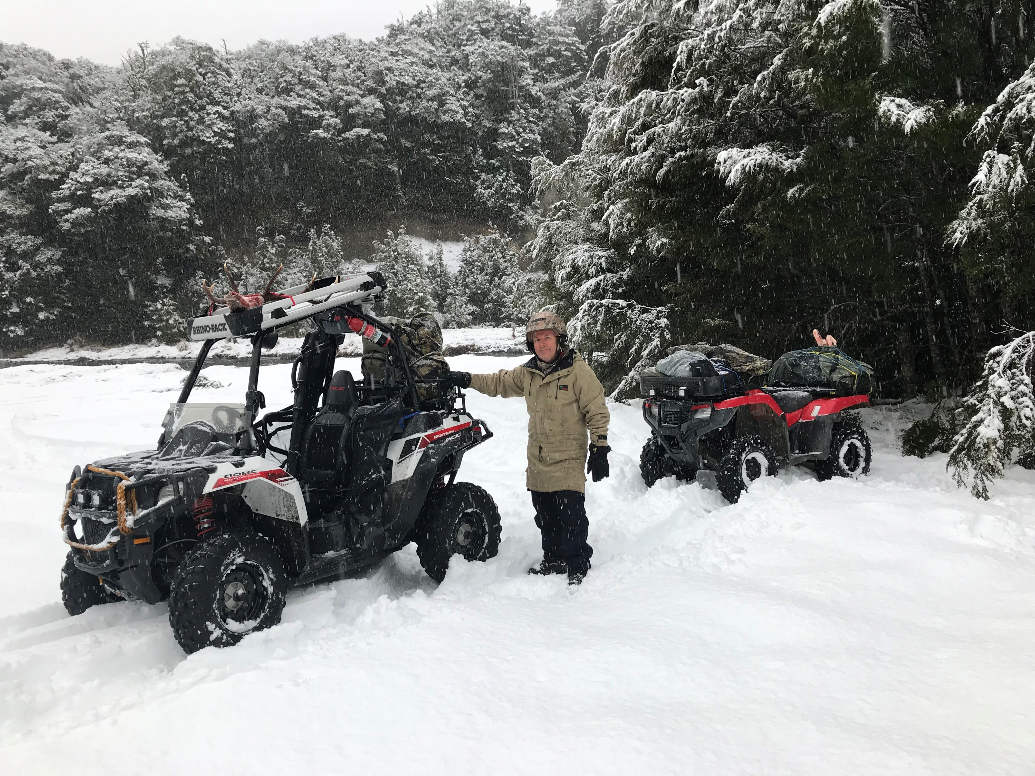 Name:  ATV's in snow.jpg