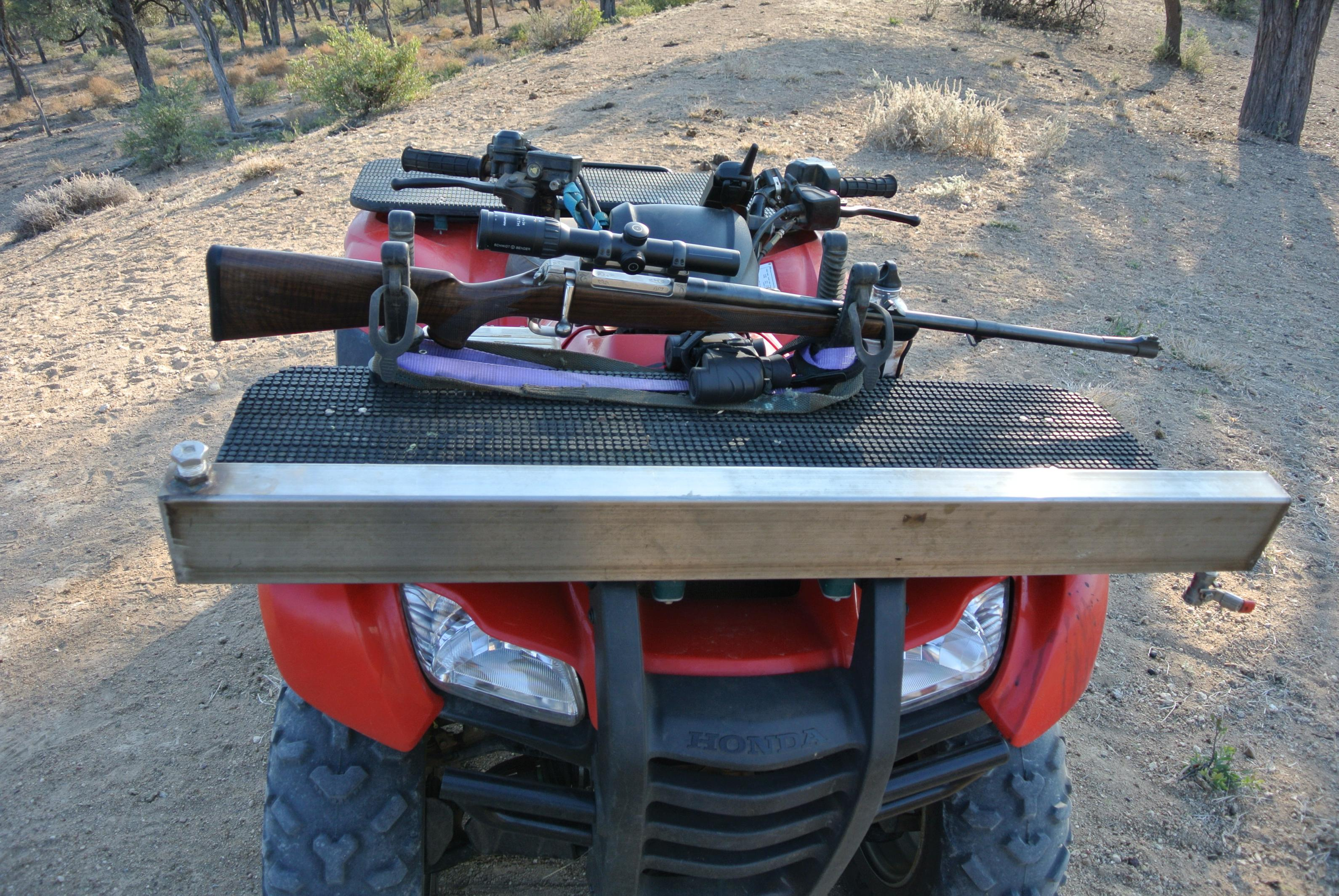Quad Bike Rifle Rest Shooting Frame Gun Rack