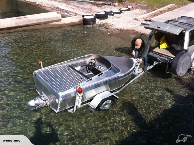 Aluminum Jet Boat Plans Boat Design Forums Pictures to pin on ...