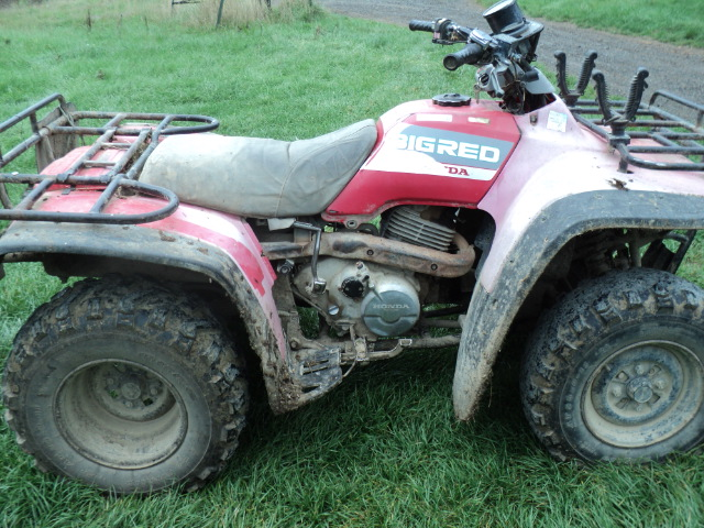 Quad Bike Brake Cables Can Fail
