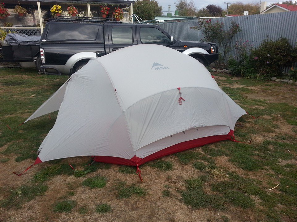 & New Base Tent