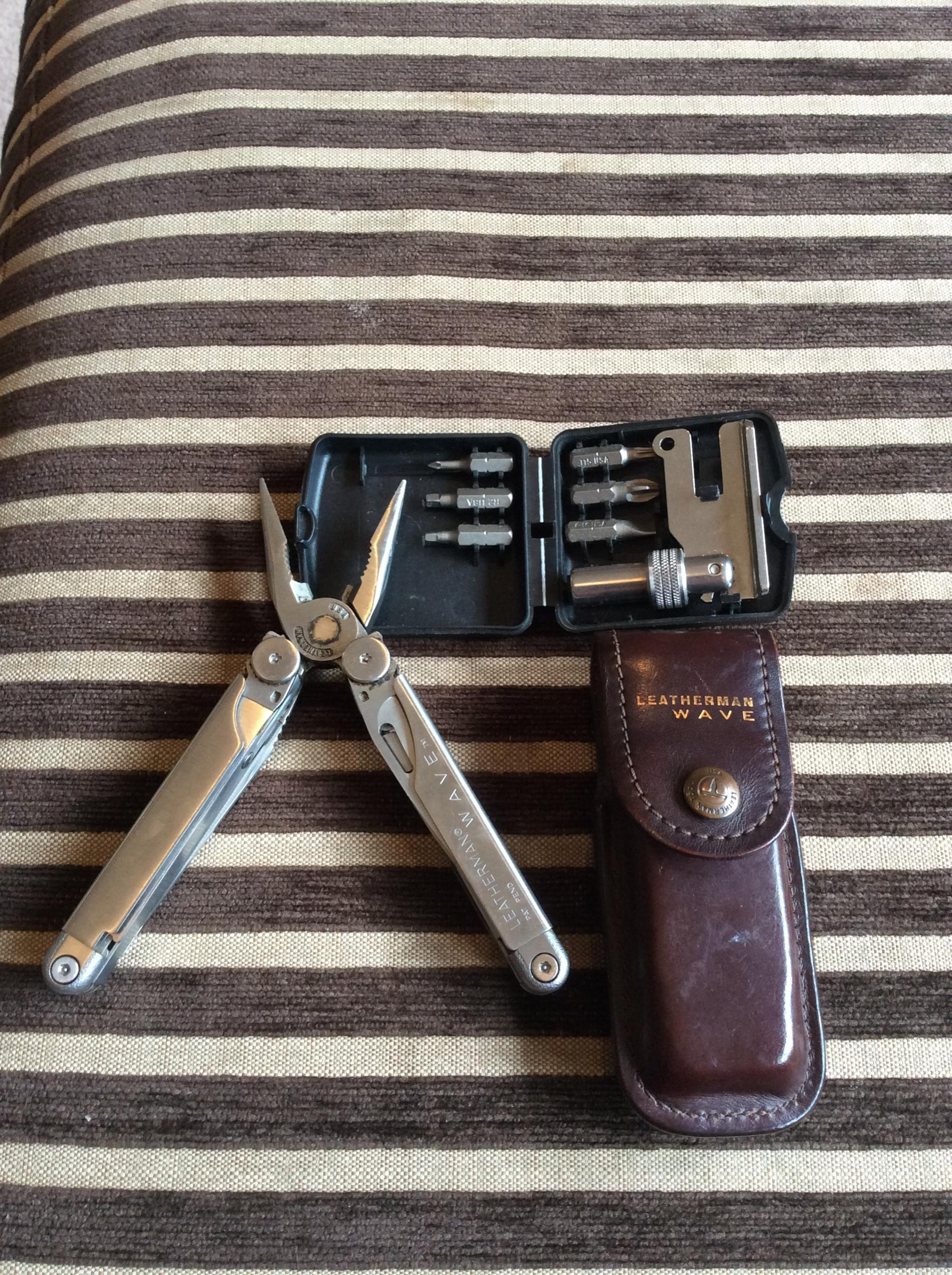 Leatherman Wave Multi Tool And Adapter Review