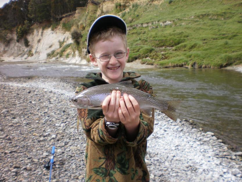 Name:  seans first trout.jpg