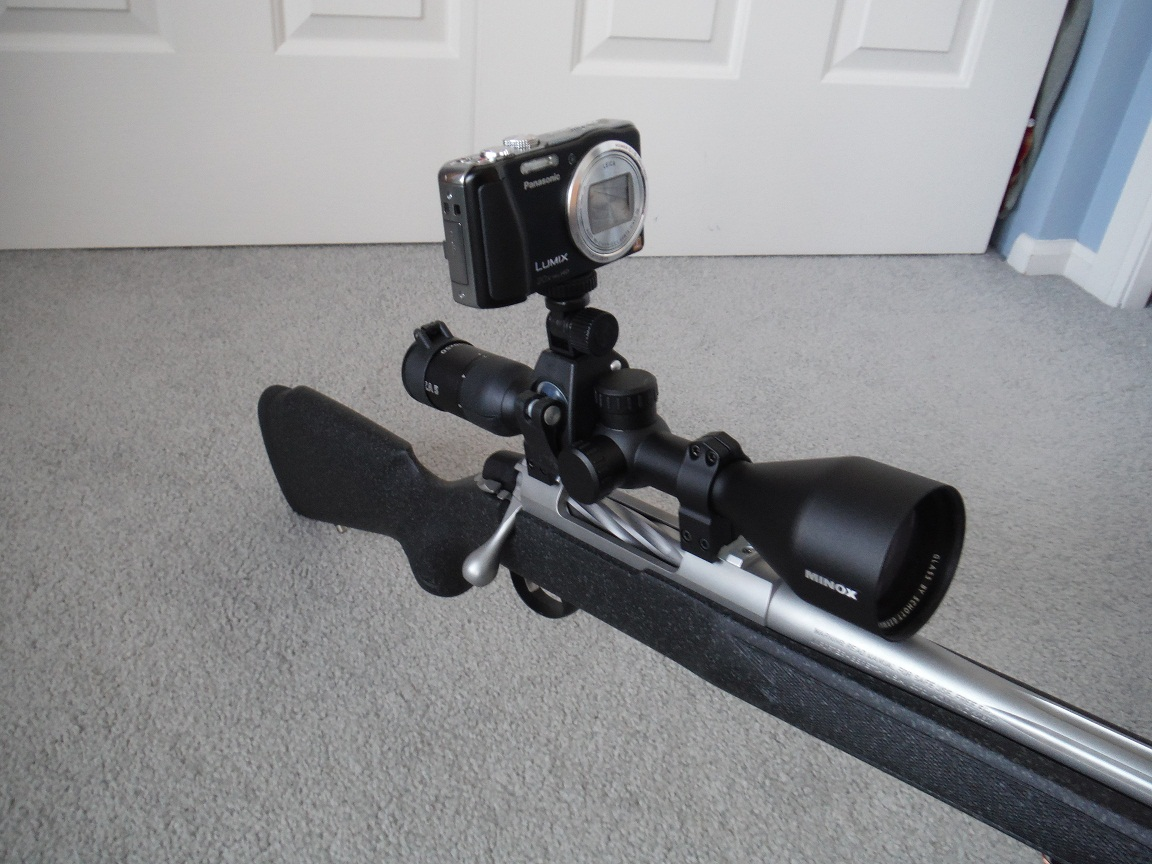 Camera Mount For Rifle Scope