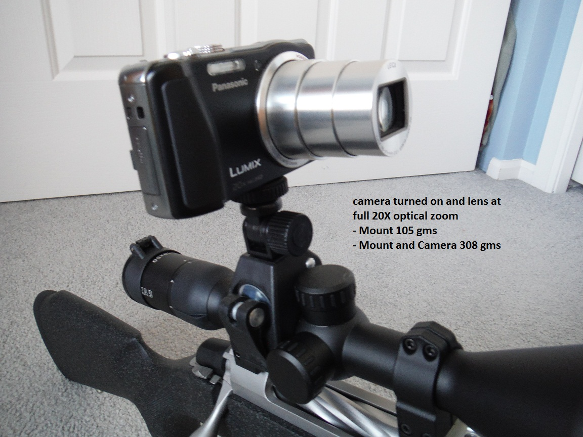Oscilloscope With Camera Mount : Video rig page