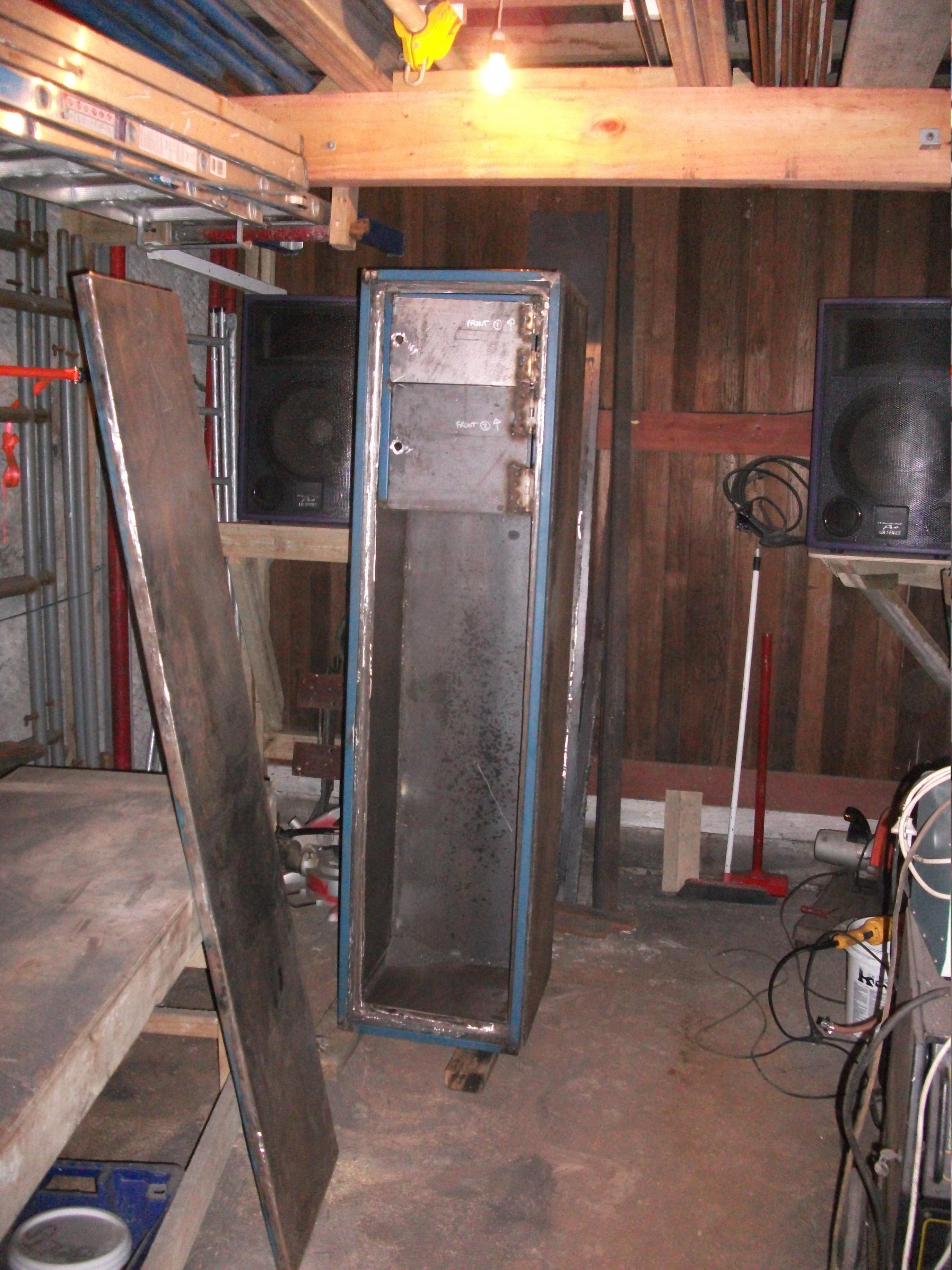 Name:  Gunsafe Build - Door Off .jpg Views: 1855 Size:  933.6 KB