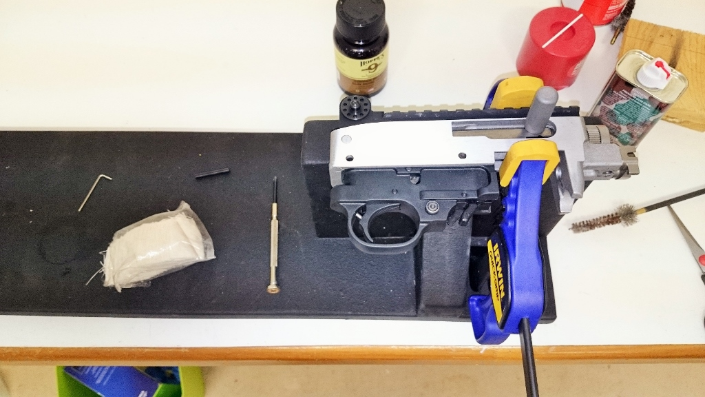 DIY El Cheapo Gun Vise